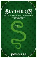 House Slytherin Poster by LiquidSoulDesign