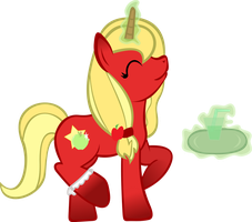 CM Apple Bottom at your service by SaturnStar14