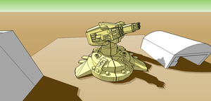 Ray Tech, Turret Pic-4 by gunzet