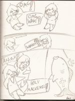 Holy Mackerel - comic version by Cardboard-Fortress