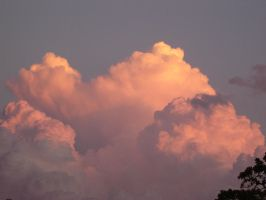 Clouds at Sunset by vergeofsanity