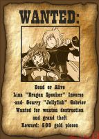 Wanted:  Dragon Spooker by akane-no-Hime