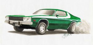 1974 Roadrunner by dieselart