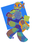 Mikey-kins by ToLoveaKiwi