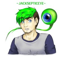 JackSepticEye and SepticEyeSam by silvererros