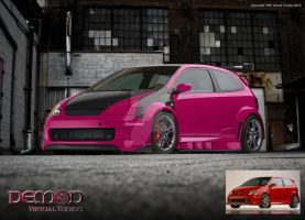 Honda Civic SI Custom by TMSVirtualTuning