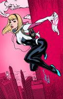 Spider-Gwen by J. Scott Campbell by edCOM02