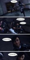 Femshep And Samantha In - Fighting Spirit by Rastifan