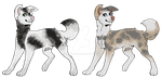 Pups OTA 2 :OPEN: by CharcoalMoose