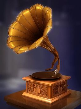 A lonely victrola by owen-c