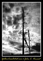 The power of clouds bw by yellowcaseartist