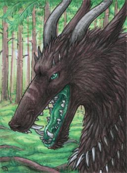 ACEO for LaKuolema by Dragarta