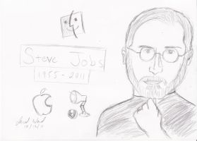 Steve Jobs Tribute Poster by Jred20