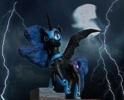 MLP:FIM Nightmare Moon really evil edition by uBrosis