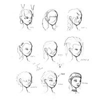 Hair Styles Vol 10 by ron-guyatt