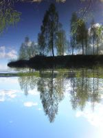 upsidedown Rovaniemi by quintocanto