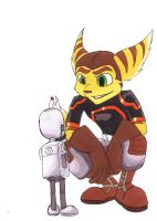 Ratchet and Clank by The-masked-ottsel