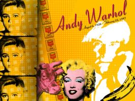Andy Warhol by maloohree