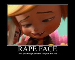 RAPE FACE by Rancis-Fluggerbutter