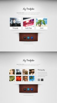 Super minimal portfolio theme by nodethirtythree