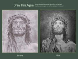 Christ redrawn by TheSignmaker