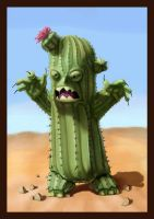 Cactus Monster by MrOzer