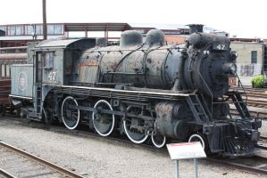 Canadian National 47 by metalheadrailfan