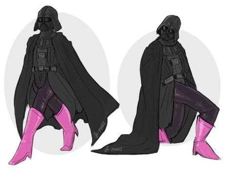 Darth Vader- LEGS by MadJesters1