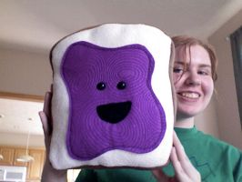 Grape Jelly Toasty by esillmonday