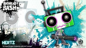 BHB BOTS Hertz the Robot Wallpaper by SpicyHorseOfficial