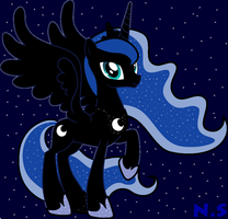 Princess Luna by gg41126