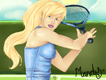 Mandy's Tennis Elbow by Aura-Alora