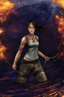 Lara Croft by Lisenna