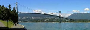 Lions Gate Bridge by Simarilius