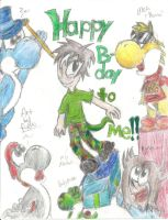 HAPPEH BIRTHDAY TO MEH by Proshi