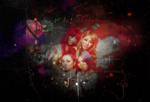 Beautiful 2ne1 by freakyCHIonew
