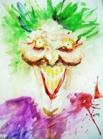 A joker from Arkham Asylum by badianychick