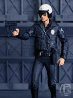 T-1000 Motorcycle Cop by ZaEmpera