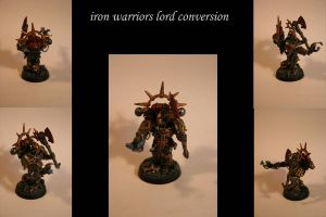 finished iron warriors lord by eddthereaper