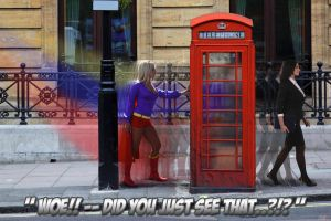 London phone box by 5red