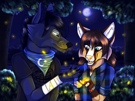 Fireflies. by Suzamuri