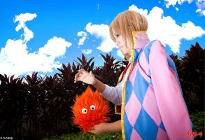 Howl - Howl's Moving Castle by Hukoyee