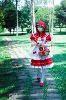 Little Red Riding Hood Miku by wisely84