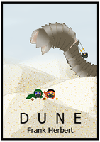 Pixel Dune Book Cover by GemDeDude