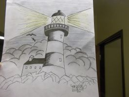 MY Lighthouse by beauty-is-a-beast
