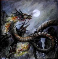 Japanese Dragon by Nightpark