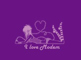 I.Love.Modem transfer by alezzita