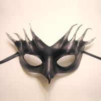 Birdlike Leather Mask by teonova