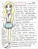 .:Dove Kendall Reference Sheet:. by PrennCooder