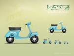 Vespa Icon by fengsj